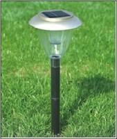 Светильники на солнечных батареях для дачи