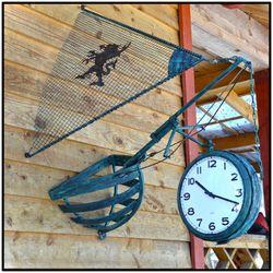 Уличные часы для дачного участка